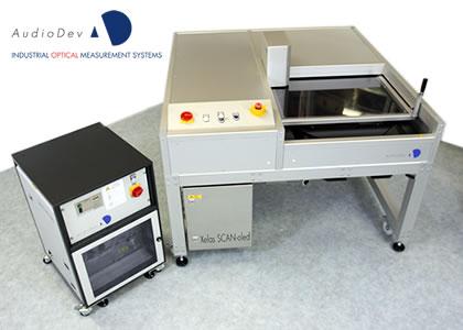 膜厚評価装置(AudioDev GmbH)