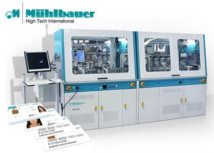 カード、RFIDタグ製造装置(Muehlbauer AG)