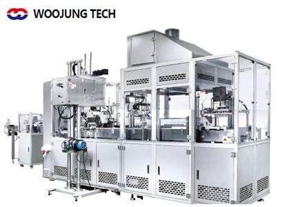 全自動口紅充填機・成型機、全自動パウダープレス機(Woojung Tech Co.,Ltd.)